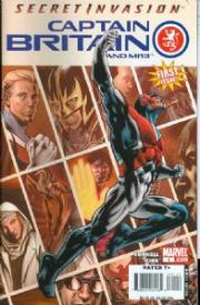 Captain Britain And MI13 Comics